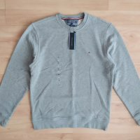 Ново! Tommy Hilfiger Core Cotton Sweatshirt Light Grey XL