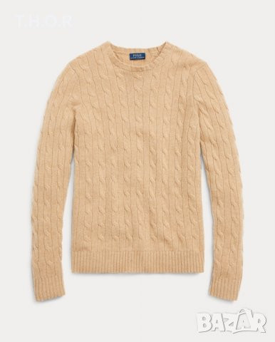 100% кашмир POLO RALPH LAUREN Cable-Knit Cashmere Sweater - р.М, снимка 5
