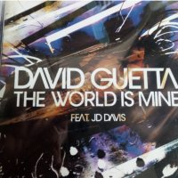 "David Guetta ""the world is mine"" оригинален диск"