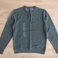 Ново! Tommy Hilfiger Core Cotton Sweatshirt Dark Grey S-M-XL-2XL