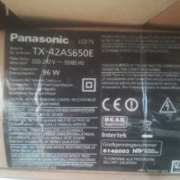 Panasonic tx-42as650e