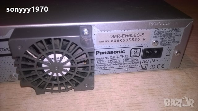 PANASONIC DMR-EH65 HDD/DVD/HDMI RECORDER, снимка 16