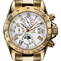 André Belfort Le Capitaine Gold Silver Watch