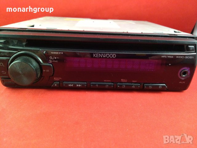 Авто CD Kenwood  KDC-3051, снимка 2