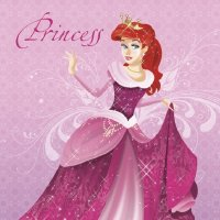 САЛФЕТКИ CHILDREN Disney Princess 33х33см Код: SDOG.027101-949928