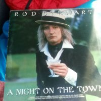 Грамофонна плоча- Rod Stewart ‎– A Night On The Town