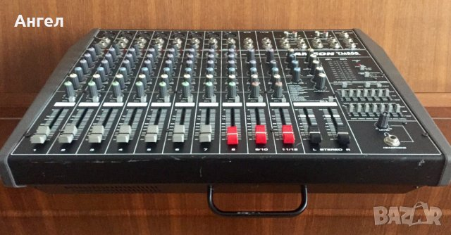 SAMSON TM500 - Стерео Powered Mixer 12 канала 500 w, снимка 2