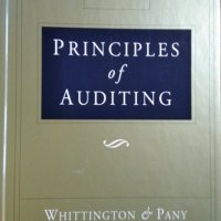 Principles of Auditing O. Ray Whittington, Kurt Pany  1995 г.