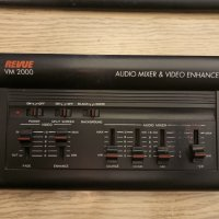 REVUE VM 2000 AUDIO MIXER & VIDEO ENHANCER
